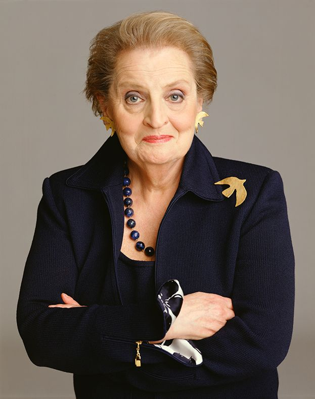 Madeleine Albright photo credit Timothy Greenfield Sanders